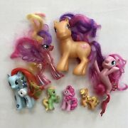 Mlp My Little Pony G3 G4 Lot Ponies Collectible Kids Toys Pinkie Pie Mermaid