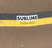 Vintage 1996 Sublime Long Beach Cali Skunk Records Double Sided Band Shirt Xl