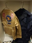Wwii-vietnam Father And Son Uniform Group -huge