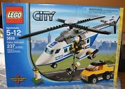 Lego City Police Helicopter 3658 New In Sealed Box Limited Edition New