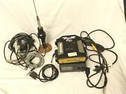Topcon Map-hp Gps Uhf 01-831501-03 Kit W/ Antenna And Accessories In A Carry Case