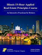 Illinois 15-hour Applied Real Estate Principles Course. Isbn 978-0915777693