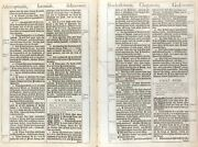 1611 King James Bible Leaf Jer 29 I Will Turn Away Your Captivity And039sheand039 Bible 3