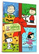 Peanuts Holiday Collection Remastered Deluxe 3 Dvd Set Charlie Brown - New