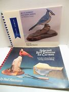 Lot Song Bird Woodcarving Pattern Books For Wood Carvers Wm Veasey Fred Plaumann