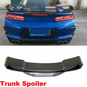 Fit For Chevrolet Camaro Coupe 16-18 Rear Trunk Spoiler Boot Wing Carbon Fiber