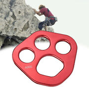 Eg_ Hb- 30kn Outdoor 4holes Paw Rigging Plate Rock Climbing Multi Anchor-point C