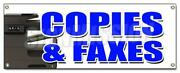 Copies And Faxes Banner Sign Office Supplies Po Box Copy Fax Ups Usps