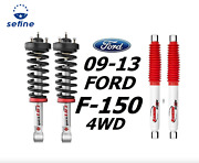 Rancho Front Quicklift Struts And Rs5000x Rear Shocks For 09-13 Ford F-150 4wd