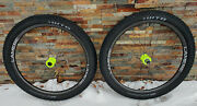 Lamere Boost 29+ Carbon Wheelset W/ Yellow Onyx Hubs