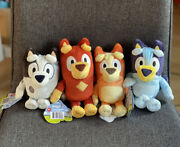 Official Bluey And Friends Toys Disney 8and039and039 Plush - Bluey Bingo Rusty Muffin New