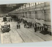 Car Equipment Dept. Safety Transit Expo With Cars And Trains, Vtg 1928 Press Photo