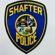 Shafter Police Kern County California Patch B5