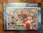 Ravensburger 1000 Piece Puzzle Christmas Is Coming 24th Limited Ed 2020 New