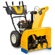 Snow Blower Shovel Thrower 243 Cc Gas Two-stage Engine Heavy-duty Steel 26