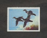 Wi1 - Wisconsin First Of State Duck Stamp. Single. Mnh. Og.