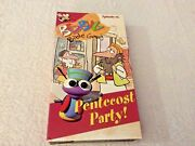"""The Bed Bug Bible Gang """"pentecost Party"""" Vhs 2002 Children's Christian Vg"""