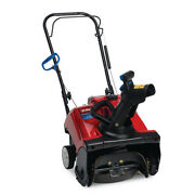 Snow Blower Shovel Thrower 99 Cc Gas Single-stage Engine Heavy-duty 18 Red