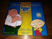 Family Guy Trivial Pursuit Card Game Quick Play Collector's Edition New And Sealed
