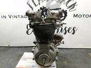 Triumph 6t Pre Unit Complete Engine 2014 Free Shipping To England Uk