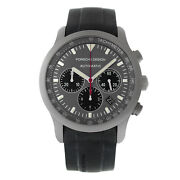Porsche Design Dashboard Ptc Chronograph P6612 6612.10.50.1139 Titanium Watch