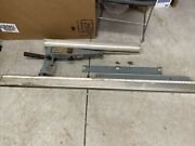 Delta Rockwell Table Saw Md 34-338 Unifence Saw Guide And 62 Rail Dts-20