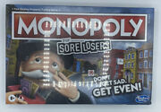 Monopoly For Sore Losers Board Game | Factory Sealed