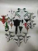 Diecast Planes Airplanes Toys Lot Military Jet Fighters Hess Usaf 49ers Toytec