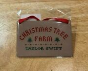 """Taylor Swift Christmas Tree Farm"""" Ornament Sold Out - In Hand Ready To Ship"""
