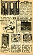 1950 Small Print Ad Of Rapid Money Changer Mail Box Popeye And Lucky Dime Bank