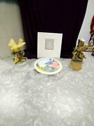 Avon 1994 China Plate Springtime In The South And 2 Musical Birds Ceramic R.c And S.