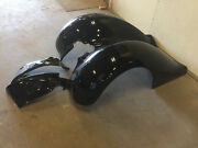 Pair Of Fiberglass 1936 Ford Fenders With Extensions