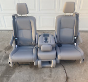 2021 Honda Odyssey Bucket Seats Fits 2018 2019 2020 Middle Row L Gray Leather
