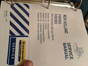 New Holland Repair Manual H8060, H8080 Windrower Y8g661200 Oem Technical Service