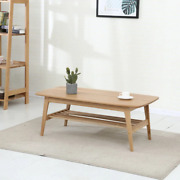 Simple Coffee Table White Oak Simple Modern Small Apartment Tea Table Solid Wood