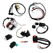 Cdi Wire Harness Stator Assembly Wiring Kit Fit For 50cc 70cc 90cc 110cc 125cc