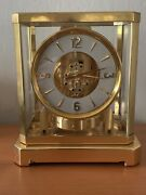 Very Early 1950 Jaeger Lecoultre Atmos 519 Clock Serial 27439 Working