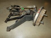 2003 Honda Rubicon Foreman 500 Left Front End Drive Axle Shaft Brake Drum A-arms