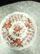 Copeland Spode England Spodes Aster 10 1/2inch Plate With All The Markings
