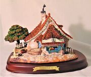 Wdcc Enchanted Places - Pinocchio - Geppetto's Toy Shop - Box And Coa