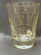 Motif Tumbler 3 Signed Baccarat Made In France New