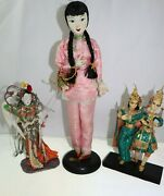 Andnbspvintage 1950s Taiwanese Free China And Asian Dancing Dollsandnbsp