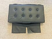 Piper J3 Cub Leather Aft Bottom Seat Cushion 3 Inches Slightly Lifted