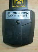 Mcculloch Pro Mac 2-10g Chainsaw Air Filter Cover - 10 Series