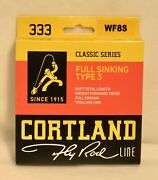 Cortland 333 Classic Series Fly Line - Full Sinking - Type 3 - Wf8s