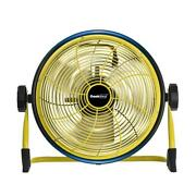 Geek Aire Floor Fan Cordless 12 In Variable Speed Power Bank Feature 1500 Cfm