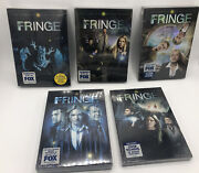 Fringe Complete Series 1-5 Set Seasons 1 2 3 4 5 Dvd Lot Brand New And Sealed