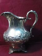 Baltimore Sterling Silver Co. Water Pitcher 10 X 9 1056g Mono Aic