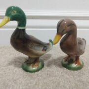 Vintage Hand Painted Ceramic Duck Made In Thames Japan 5