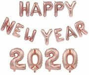 Rose Gold Happy New Years Eve Party Supplies 2020 Calendar Or Lunar New Year 16